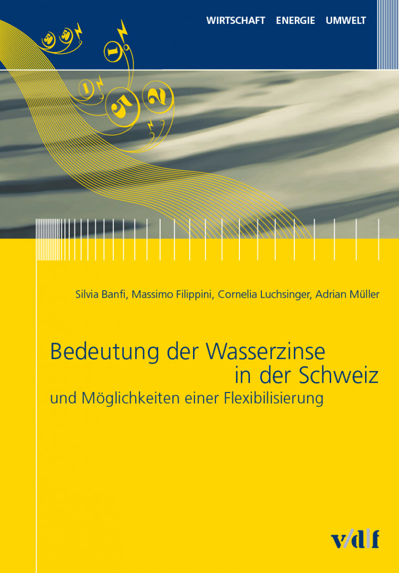 Bedeutung der Wasserzinse in der Schweiz und Möglichkeiten einer Flexibilisierung