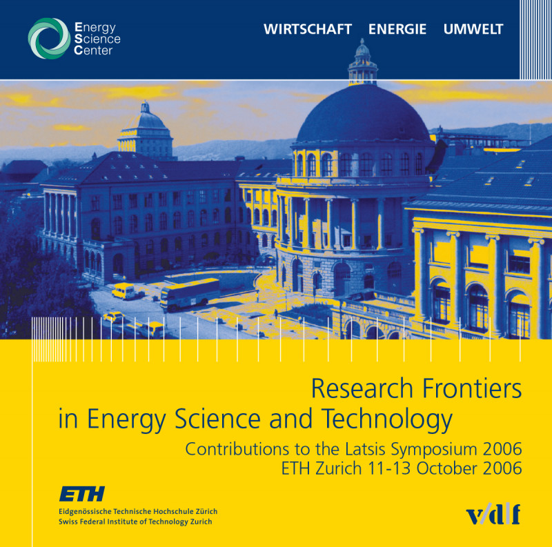Research Frontiers in Energy Science and Technology