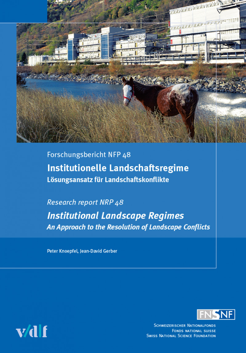 Institutionelle Landschaftsregime / Institutional Landscape Regimes