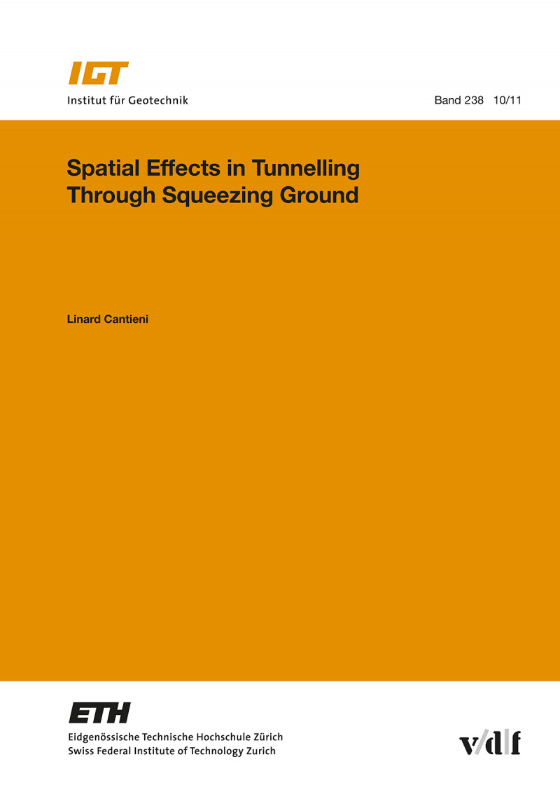 Spatial Effects in Tunnelling Through Squeezing Ground