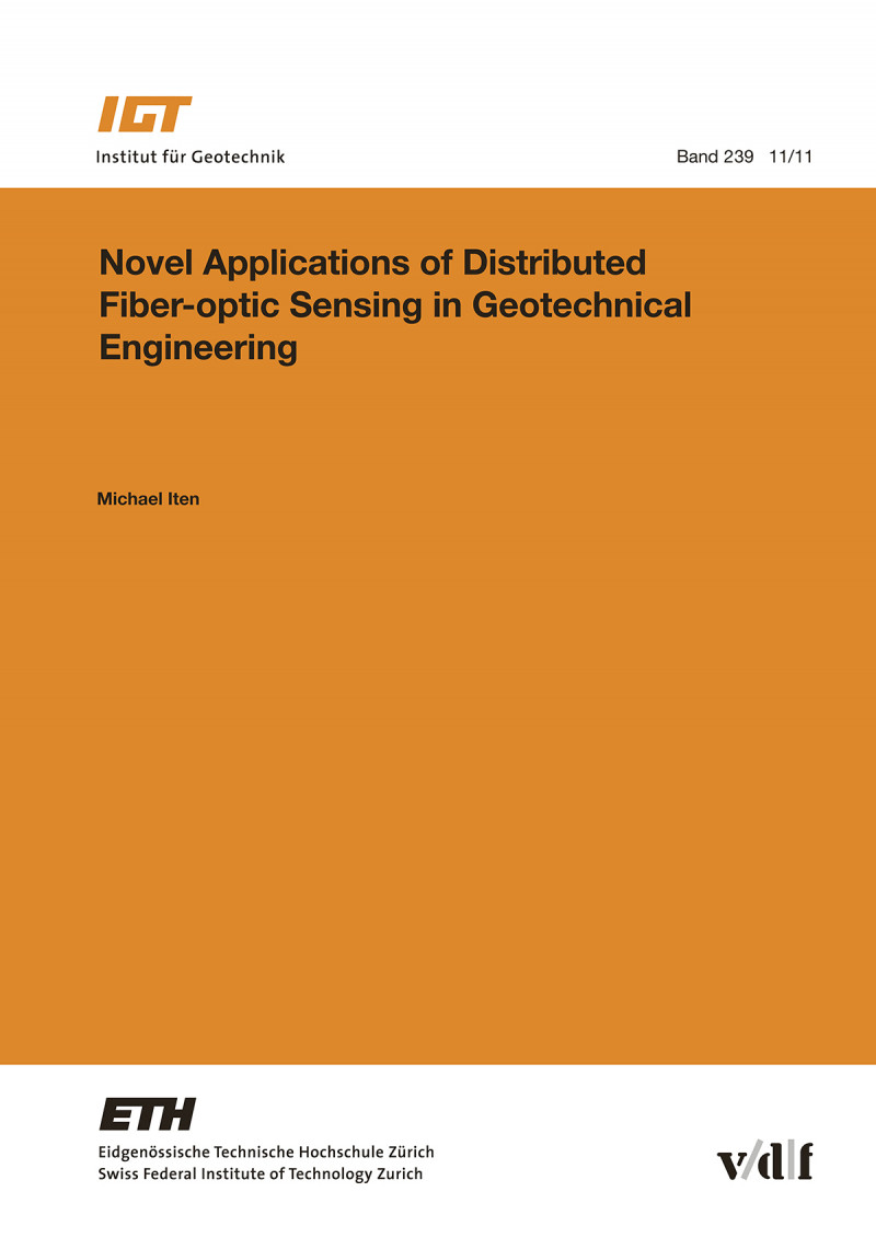 Novel Applications of Distributed Fiber-optic Sensing in Geotechnical Engineering