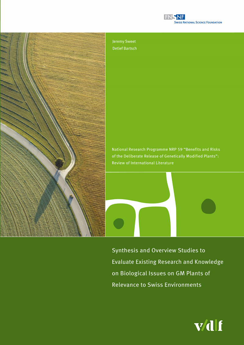 Synthesis and Overview Studies to Evaluate Existing Research and Knowledge on Biological Issues on GM Plants of Relevance to Swiss Environments