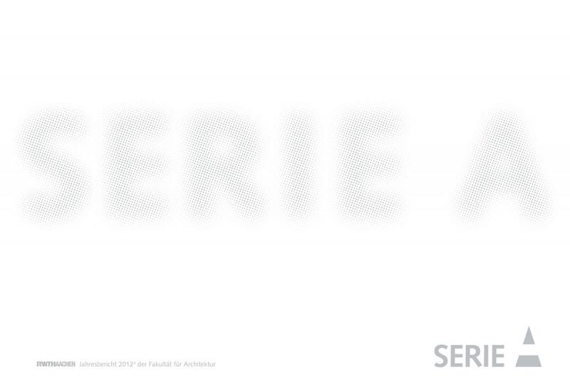 Serie A – Arts & Architecture