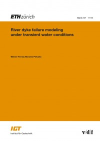 River dyke failure modeling under transient water conditions