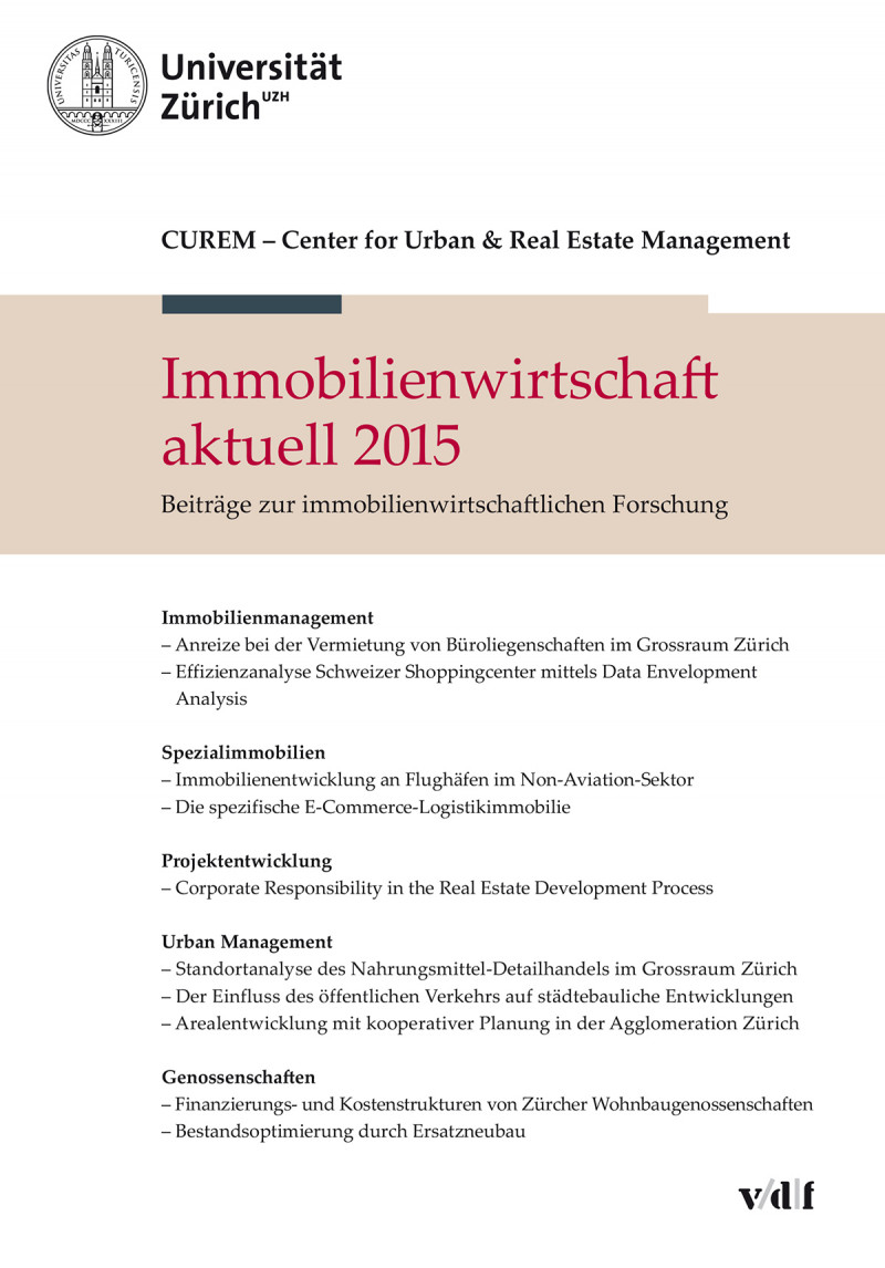 Immobilienwirtschaft aktuell 2015
