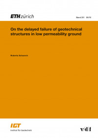 On the delayed failure of geotechnical structures in low permeability ground