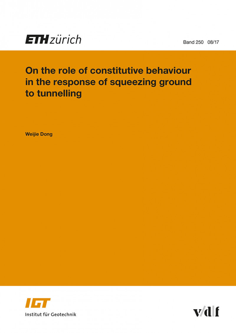 On the role of constitutive behaviour in the response of squeezing ground to tunnelling