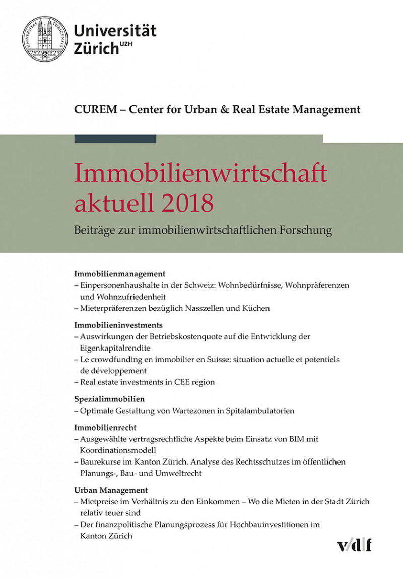 Immobilienwirtschaft aktuell 2018