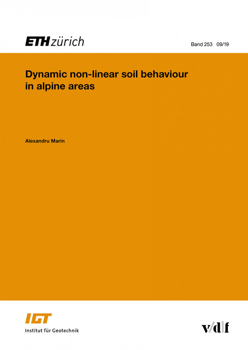 Dynamic non-linear soil behaviour in alpine areas