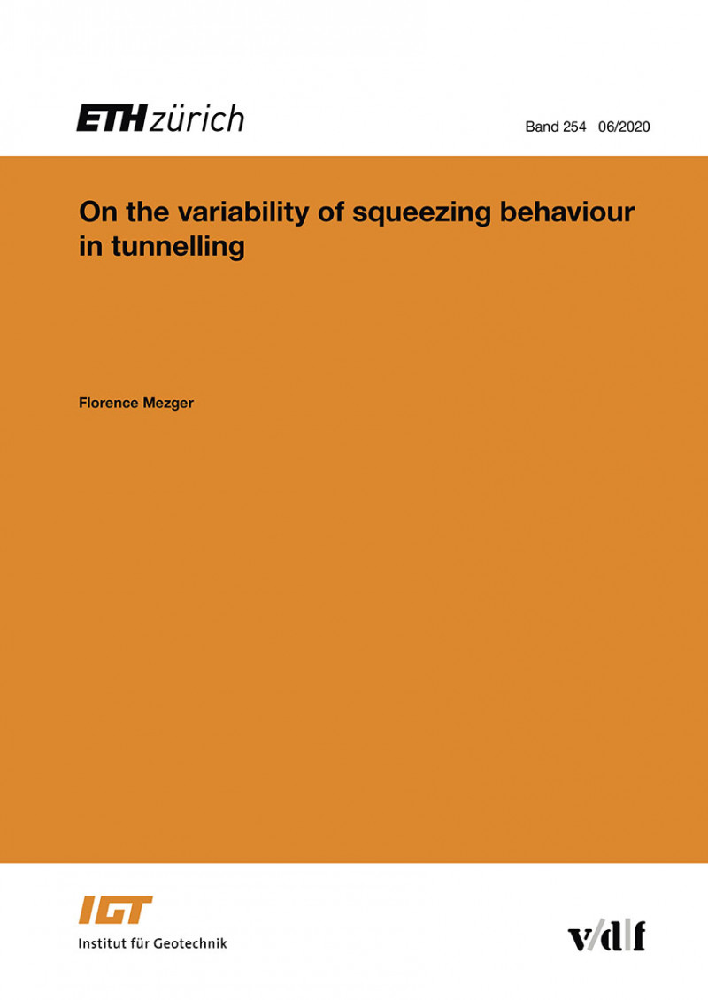 On the variability of squeezing behaviour in tunnelling